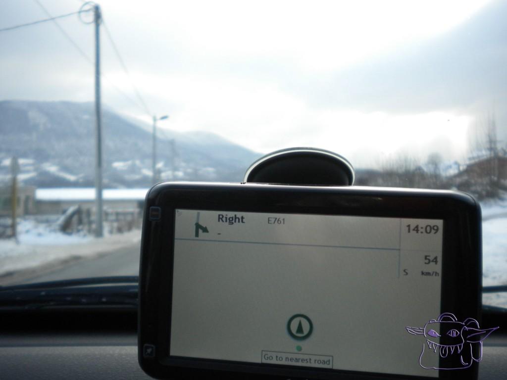 GPS, lost, no roads, Bosnia