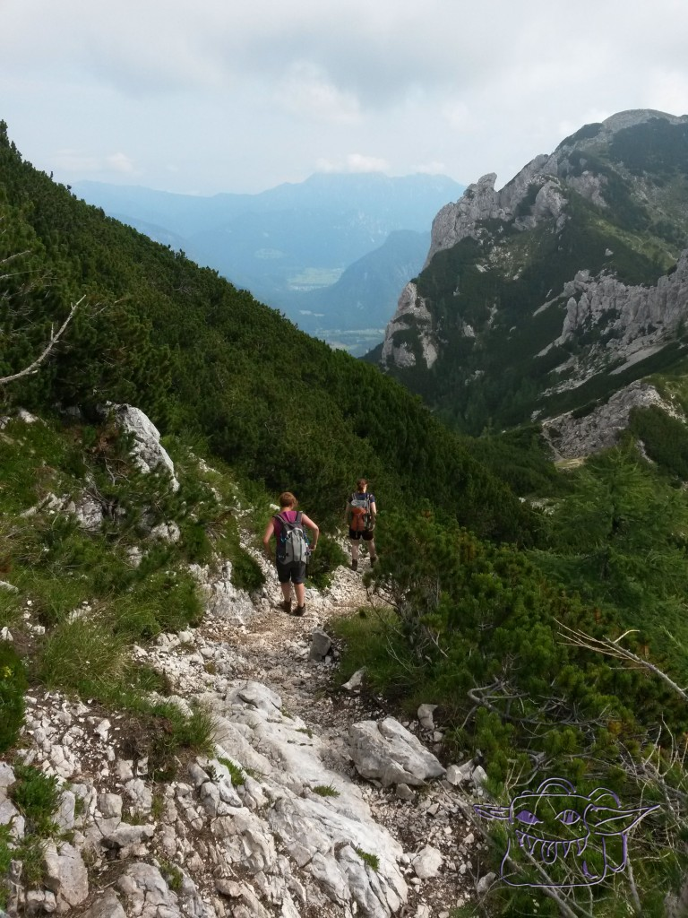 hiking, Slovenia, mountains