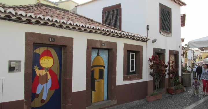 LIttle prince, doors Madeira, doors Funchal, Madeira island, art Madeira, Portugal