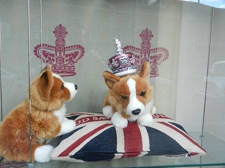 Royal corgis