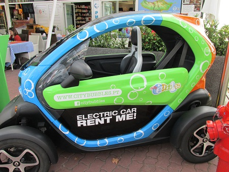 mini electric car