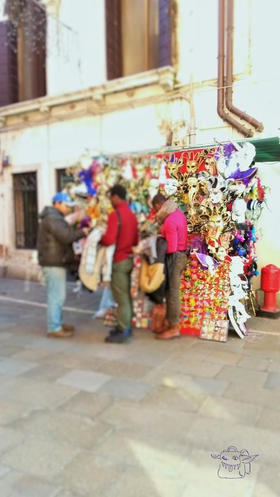 carnival, masks, Venice, Italy
