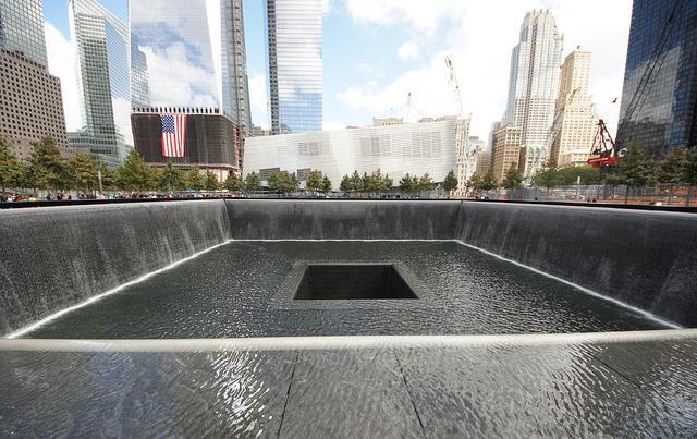New York, two towers, 911, memorial