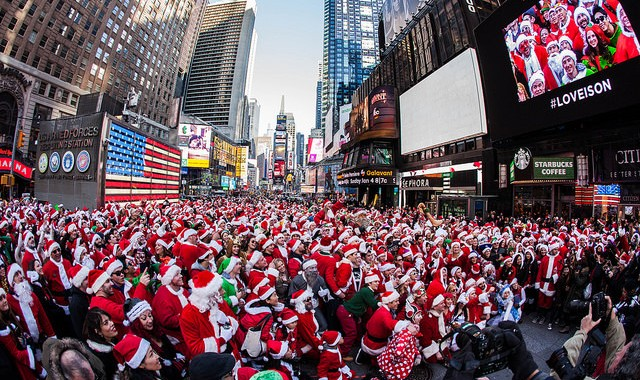 New York, Santacon