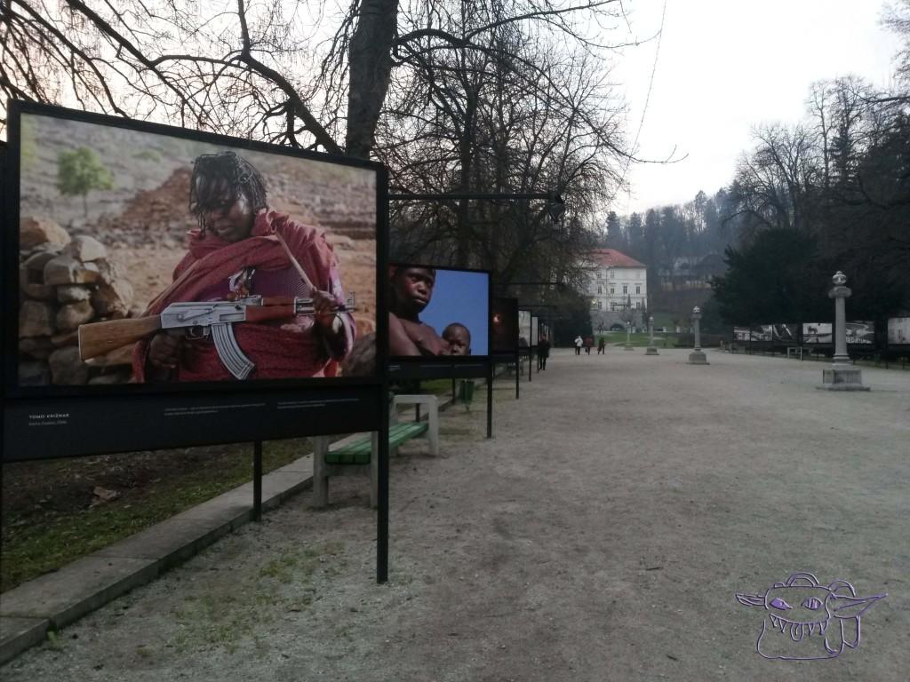open-air photographic exhibition, Tomo Križnar, Ljubljana, Tivoli park
