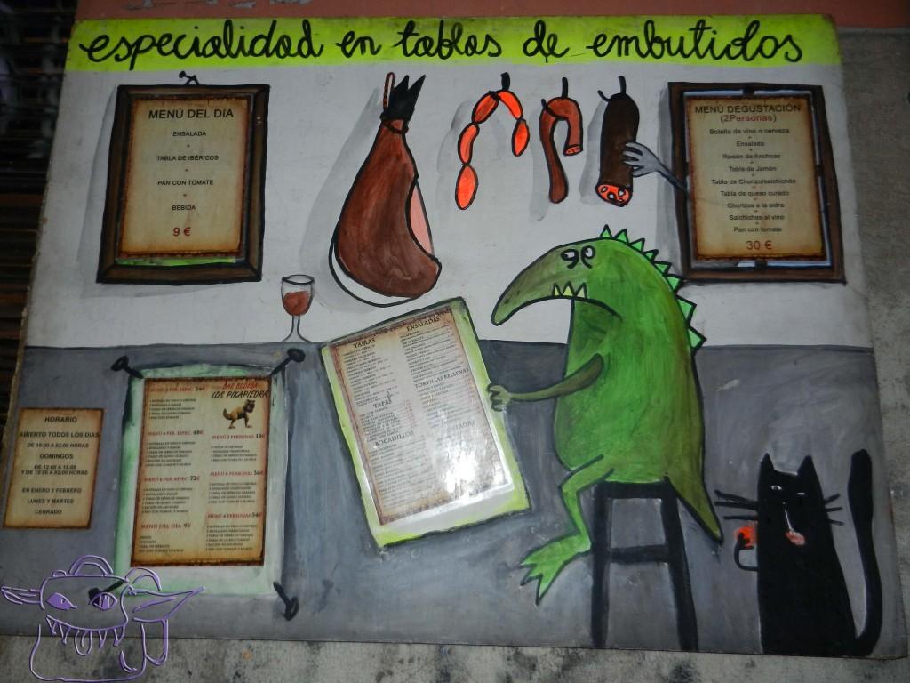 Valencia, tapas, Menu, menu del dia