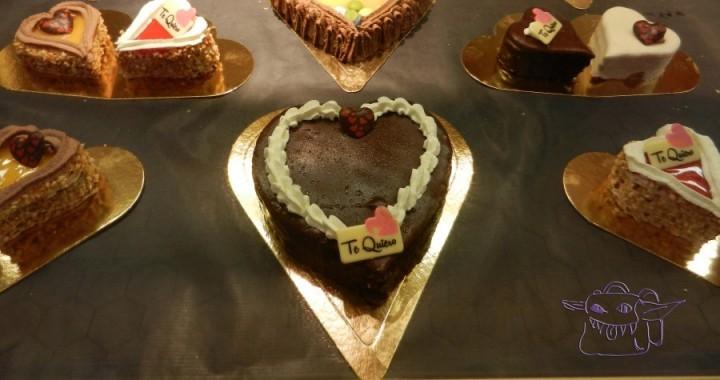 cake, Valencia, heart cake