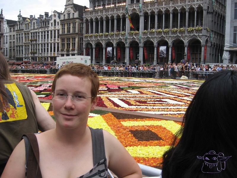 Brussels, flower carpet, Belgium