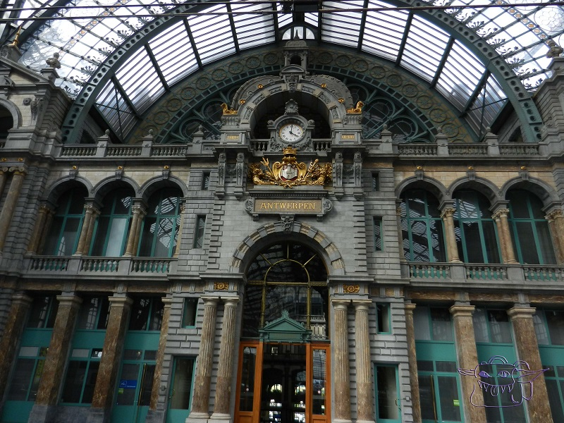 Antwerp, train station, Belgium, Flanders