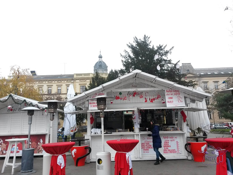 Zagreb Advent Christmas culinary chalet