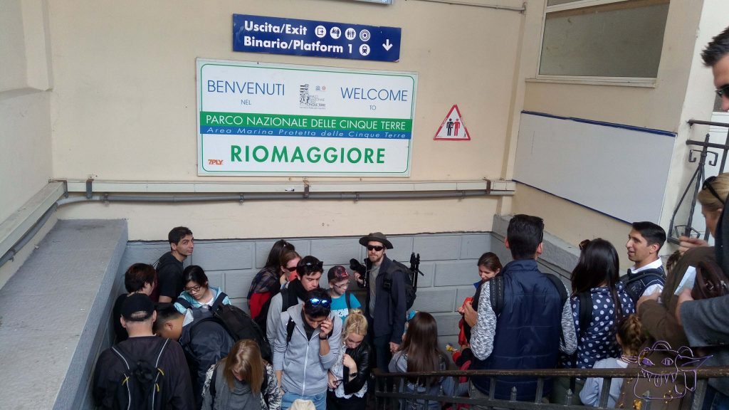 train, lines, Cinque Terre