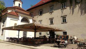 castle, Kodeljevo castle, Ljubljana, baby