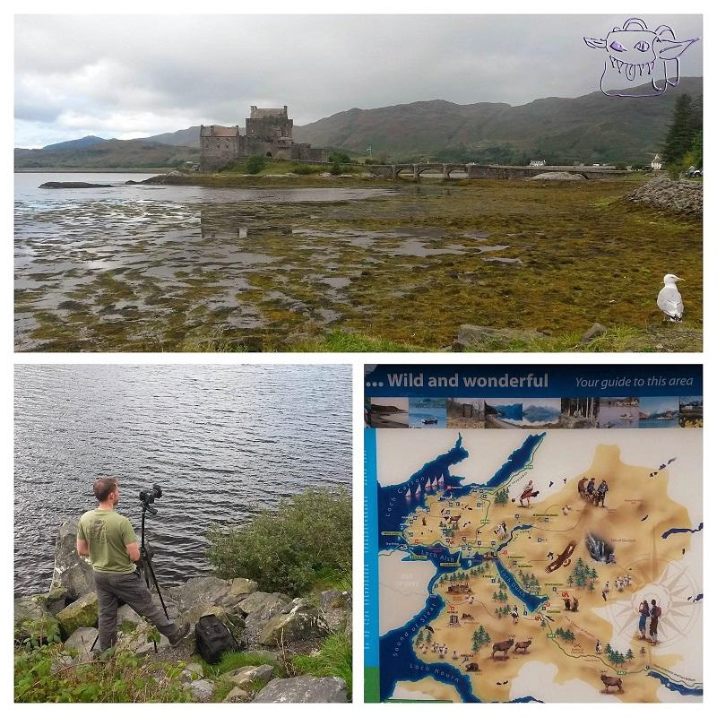 Eilean Donan Castle, Loch Duich, Scotland, travel