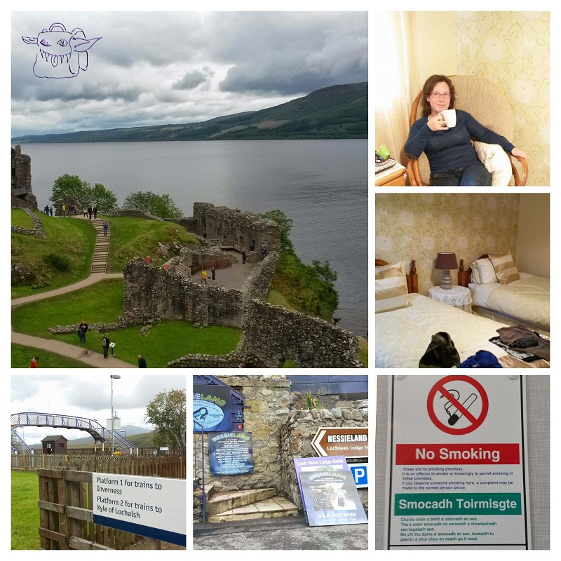 Loch Ness, english tea, Scottish breakfast, train travel Scotland