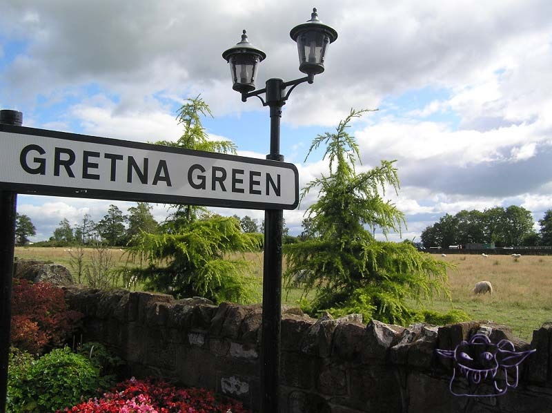 Gretna Green, trvel, Scotland, roaming goblin blog