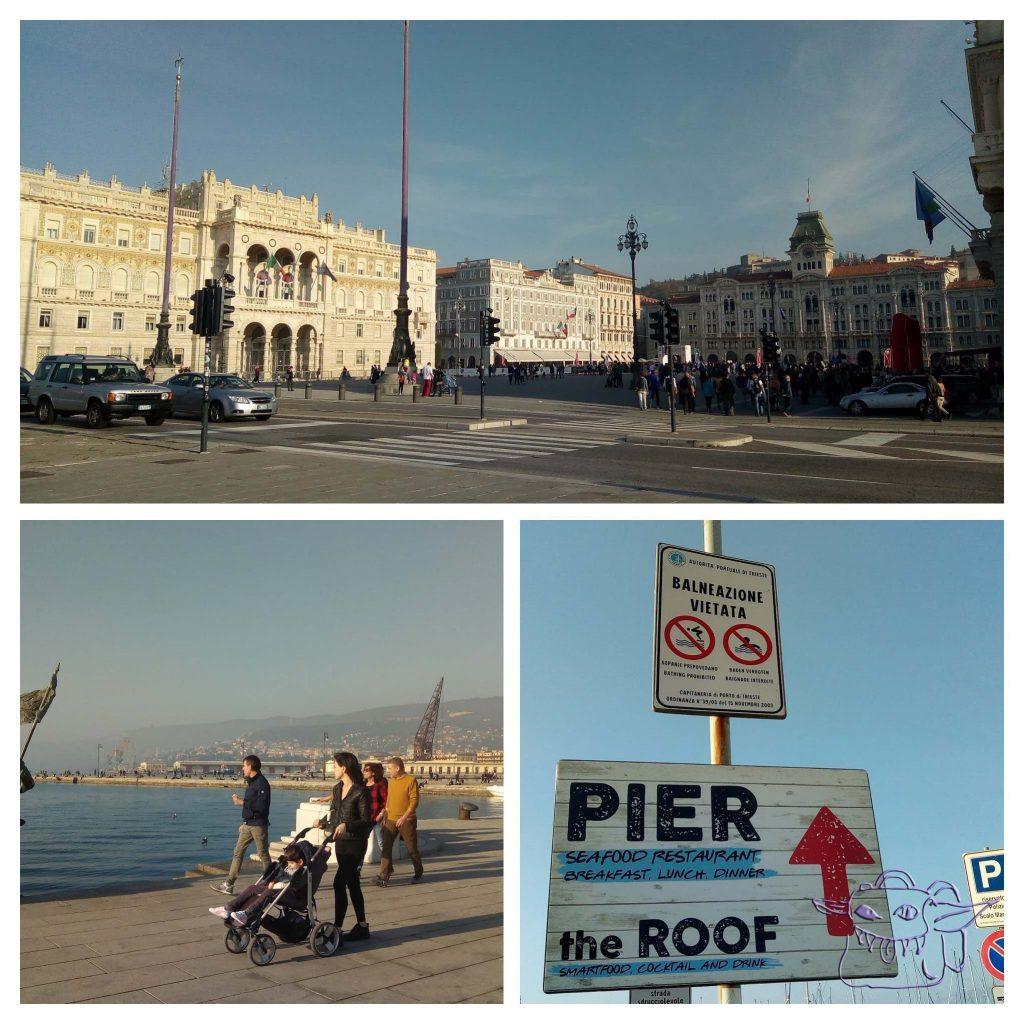 Trieste, baby, Italy