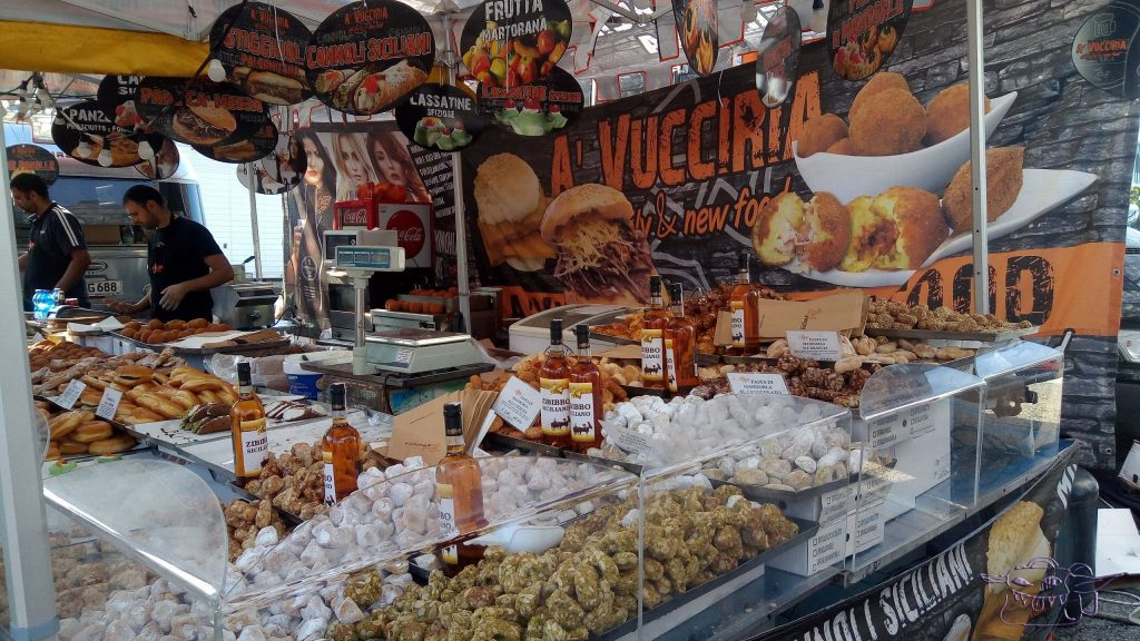 International food truck festival, Trieste, Italy