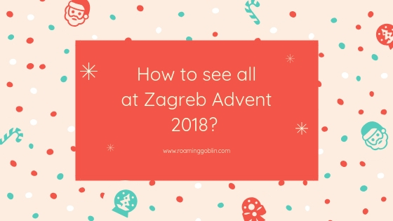 Zagreb advent 2018, Croatia, Xmas